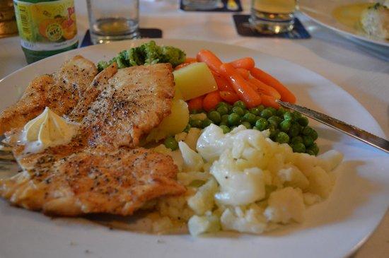 Gasthof Hofwirt : Gegrilltes Hühnerfilet