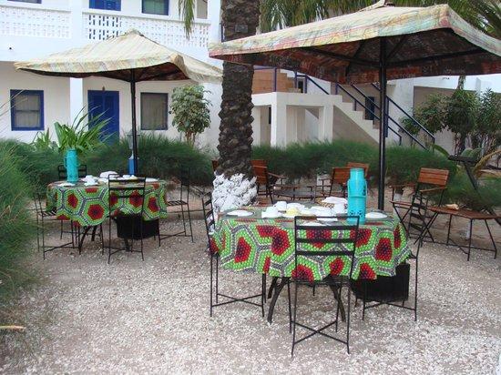 Hotel Carabane:                   Comedor del Hotel
