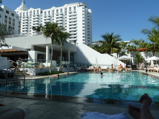 Royal Palm South Beach Miami, A Tribute Portfolio Resort:                   The pool at The James