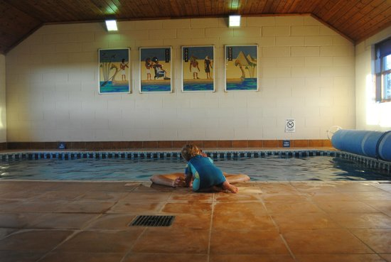 Lancombe Country Cottages & Lodges:                   Swimming pool - clean and well looked after