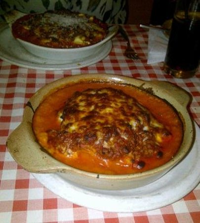 Casa Italia :                   The delicious lasagne
