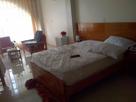Hotel Del Castillo Plaza:                   cama comoda