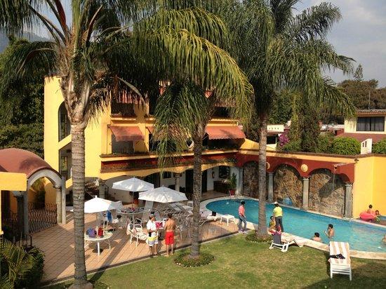 Hotel Quinta Roma: Alberca y terraza