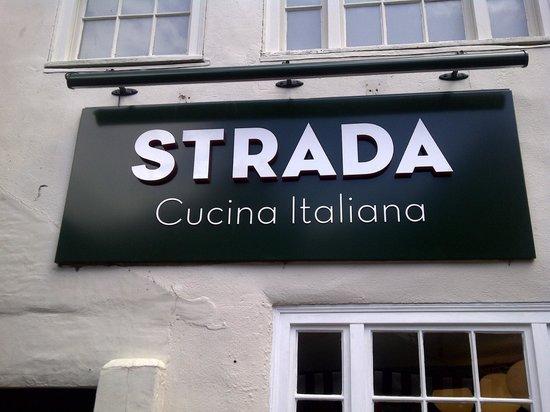Strada - York:                   the garden is stunning