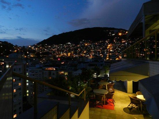 South American Copacabana Hotel:                   Vista de la ciudad desde la Terraza del hotel
