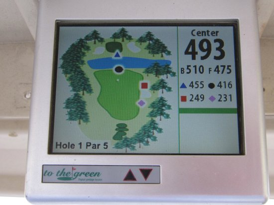 Lake Marion Golf Course:                   Spiffy GPS