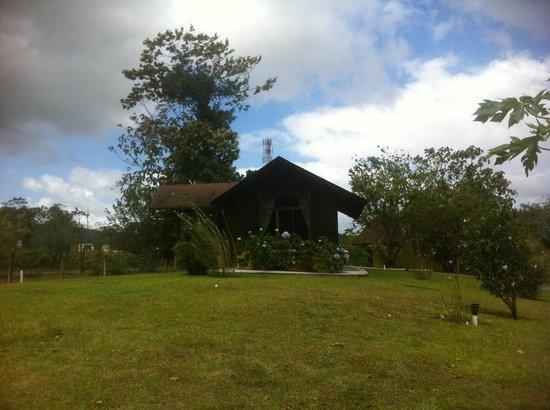 هوتل كامبو فيردي:                   View of cabin from outside                 