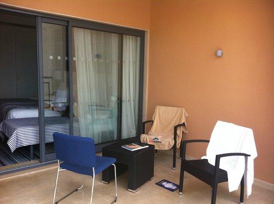 Real Marina Hotel & Spa:                   Terrassen