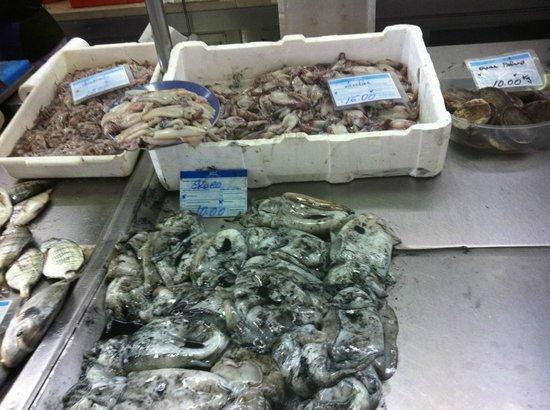 Real Marina Hotel & Spa:                   Fiskmarknad