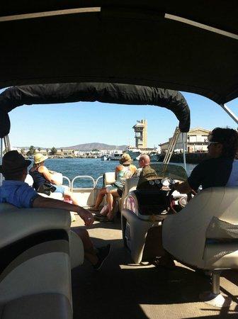 Real Marina Hotel & Spa:                   På väg till öarna