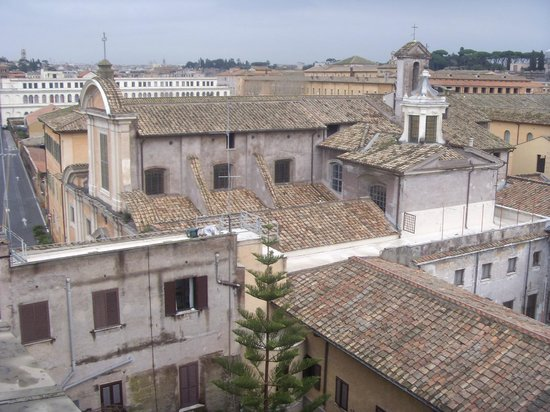 Hotel San Francesco: I tetti di trastevere dall'hotel
