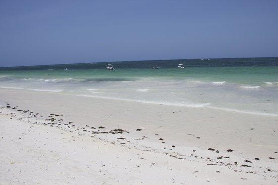 Waterlovers Beach Resort: la bianca spiaggia di Diani