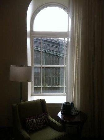 فيلادلفيا ماريوت داون تاون:                   View from room 625.                 