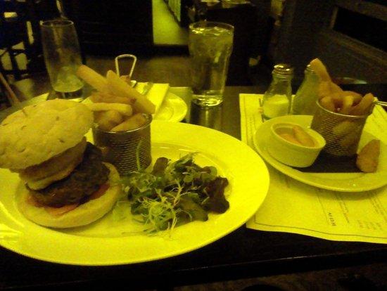 The Fat Badger:                   Fat Badger Burger