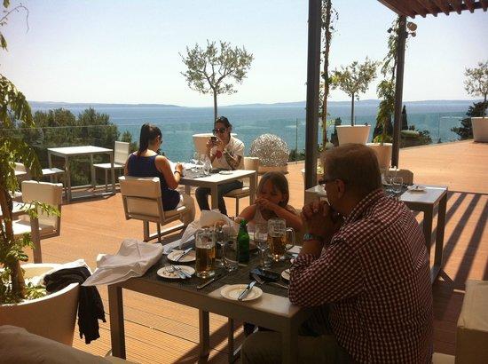 Radisson Blu Resort Split:                   Den underbara frukosten