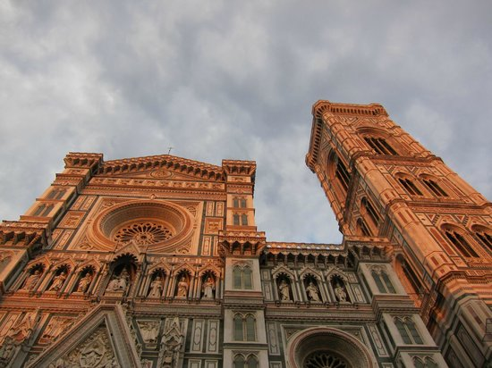 Plus Florence:                   The Duoma at sunset