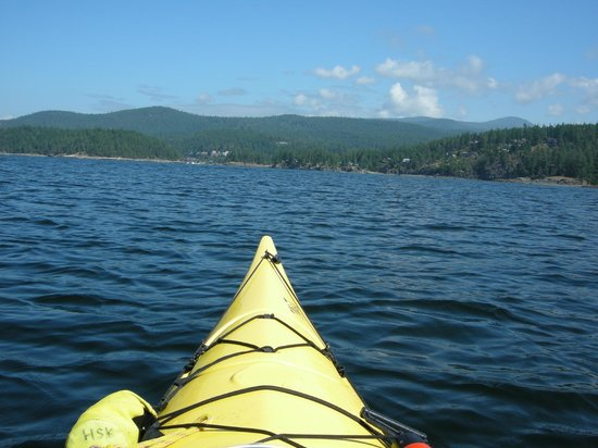 Rockwater Secret Cove Resort:                   Kayaking