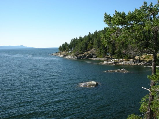 Rockwater Secret Cove Resort:                   View from the tent's deck