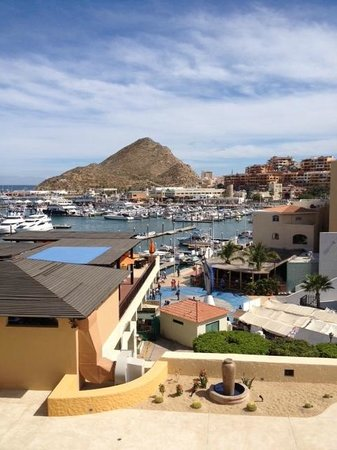 Tesoro Los Cabos:                   View of Marina from the room.