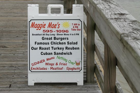 Maggie Mae's Sunrise Cafe :                                     The bay side of Maggie Mae's
