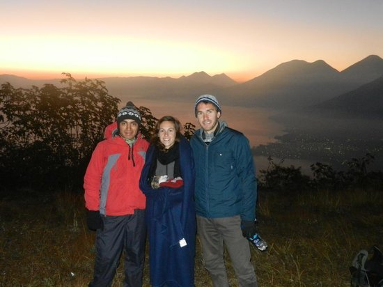 Lake Atitlan:                   group of the trek