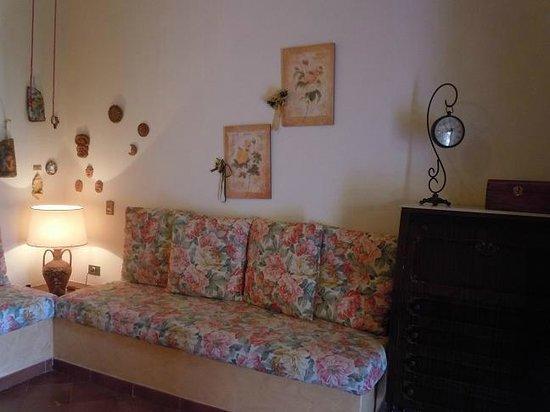 Villa Papale: Salotto
