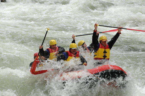 River Dance Lodge: Lochsa River Rafting