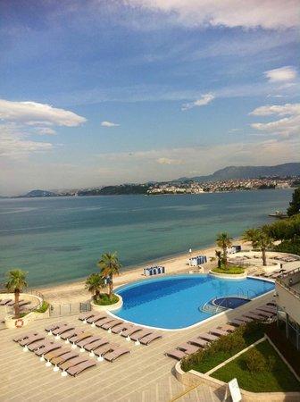 Le Meridien Lav Split:                   Stranden