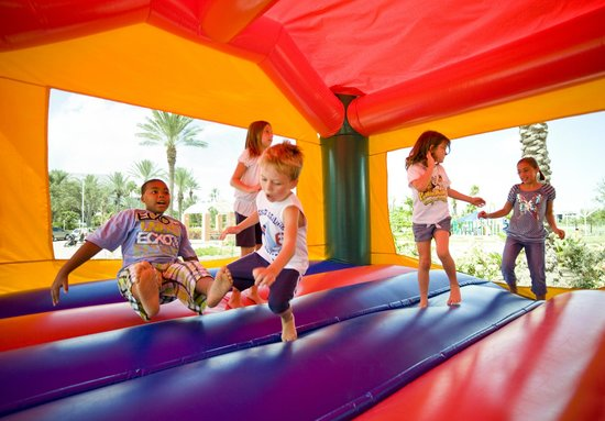Moody Gardens Hotel Spa & Convention Center: Kids Crew Bounce House