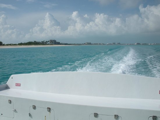 Caicos Dream Tours:                   View from boat