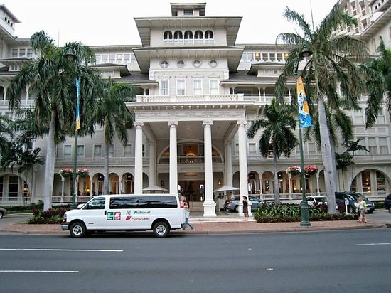 Moana Surfrider, A Westin Resort & Spa : The main Building