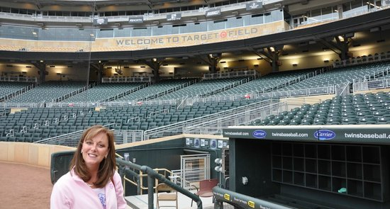 Target Field seating chart - Picture of Target Field ...