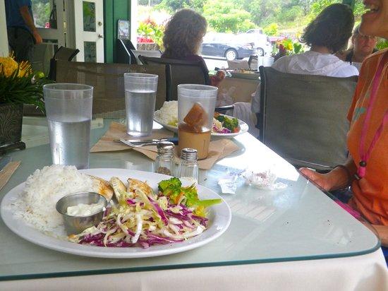 Kona Coffeehouse & Cafe at Honaunau : The best plate lunch on the island