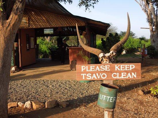Sentrim Tsavo East: reception