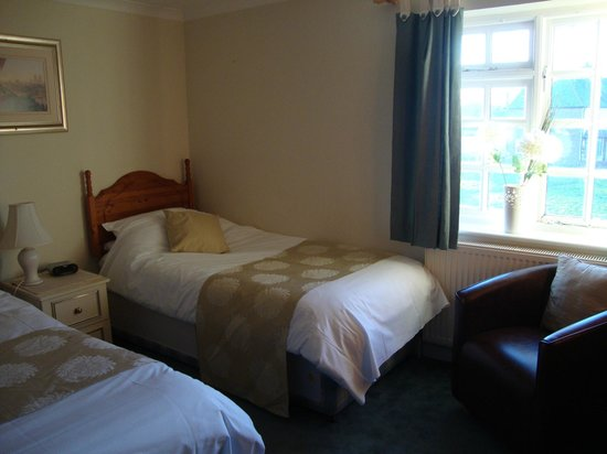 The Potters Arms: Our twin room