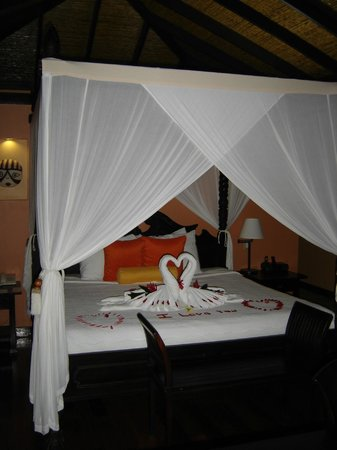 Rio Celeste Hideaway Hotel:                   Special anniversary treat, something different everyday.