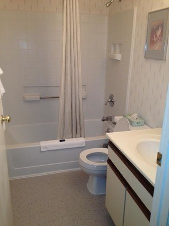 Extended Stay America - Knoxville - West Hills :                   out of date bathroom
