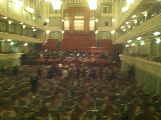 Schermerhorn Symphony Center : Beautiful Room