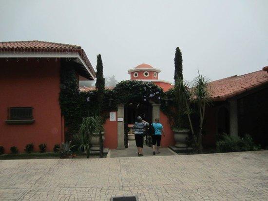 Las Brumas Grill y Café: Outside of entry