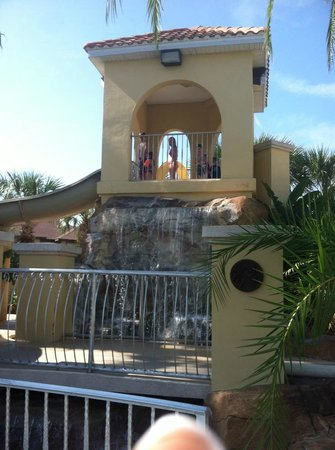 Regal Palms Resort & Spa:                   Waterfall & Top of Water Slide