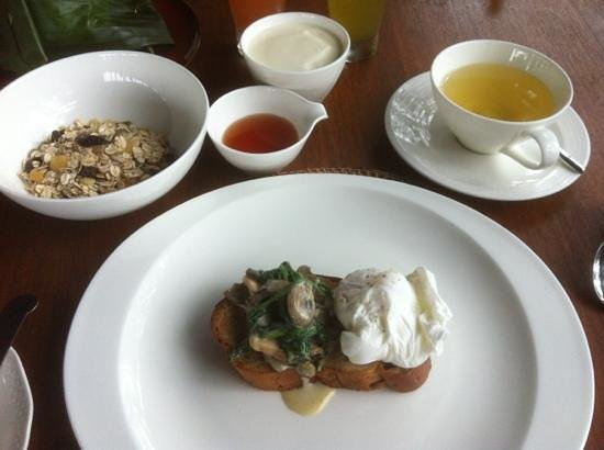 Alila Ubud :                                     amazing breakfasts