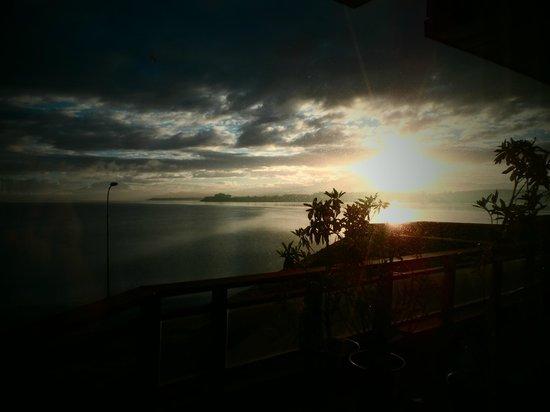 Dreams Los Volcanes: Amanecer desde la habitación