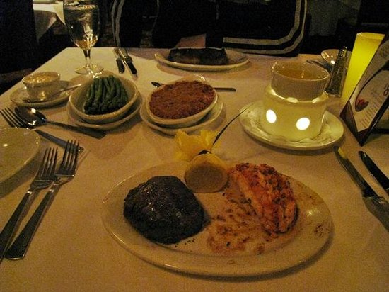 Ruth's Chris Steak House:                   .