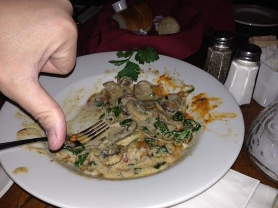 Remezzo Italian Bistro: not a total thumbs down. but I didn't finish.