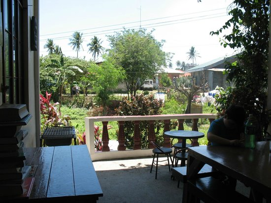 Felina Guest House:                   view from the dining
