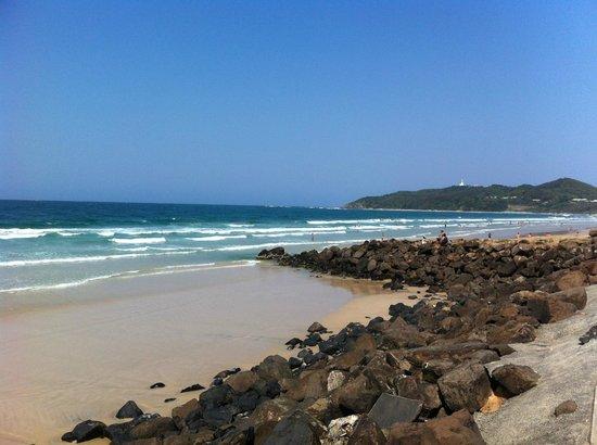 Belongil Beach: Sunny day here in Belongil