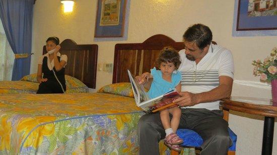 Eco-Hotel El Rey Del Caribe: Habitación uso familiar