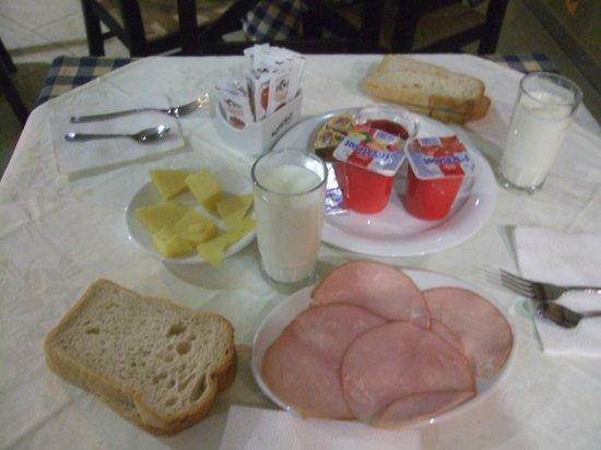 Hotel Nobel:                   朝食