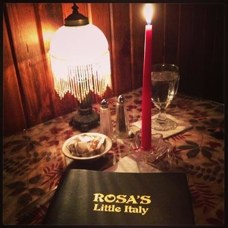 Rosa's Little Italy : awesome atmosphere.