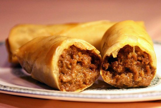 Kong's City: Minced Beef Spring Rolls ( Cooked with Special Recipe )